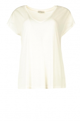 JC Sophie | Modal T-shirt Goldy | wit