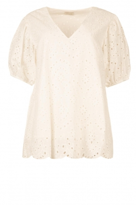 JC Sophie | Embroidery top Gracie | white