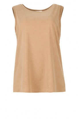 JC Sophie | Sleeveless top Gwendoline | brown