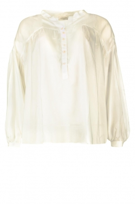 JC Sophie | Tencel blouse Gemma | white