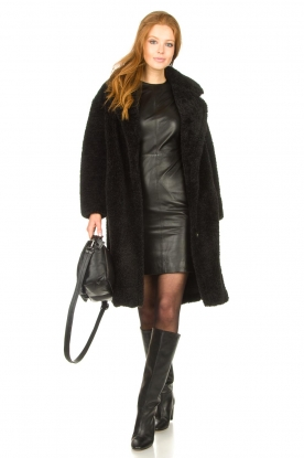 Look Leather dress Doudou