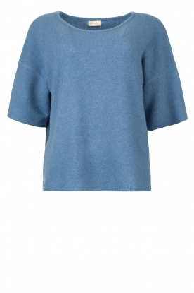 JC Sophie |  Knitted sweater Godiva | blue