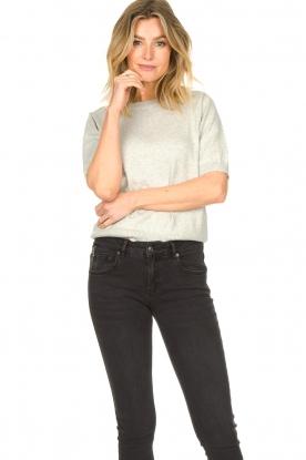 JC Sophie |  Cotton sweater Ginny | grey