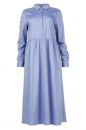 JC Sophie |  Cotton midi dress Guinevere | blue