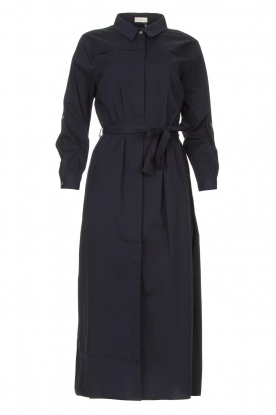 JC Sophie |  Midi button-up dress Gretchen | blue