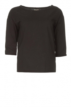 Blaumax | Cotton T-shirt Cartagena | black