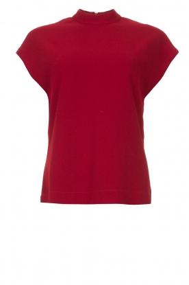 Dante 6 |  Sleeveless top Tylor | red