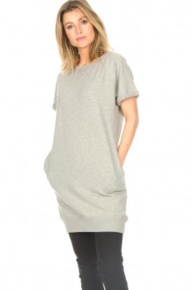 Blaumax | Sweaterjurk Queens | grijs