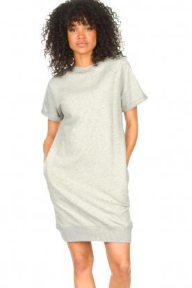 Blaumax |  Cotton sweater dress Queens | grey