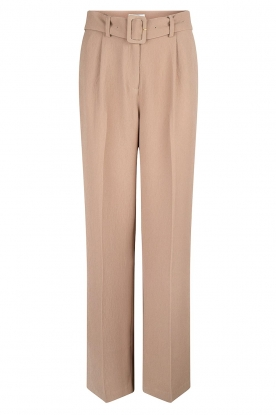 Dante 6 |  Wide leg trousers Abella | camel