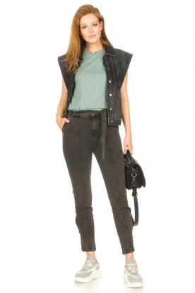Look Paperbag jeans Bayard