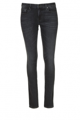 7 For All Mankind | Cigarette leg jeans Pyper | black