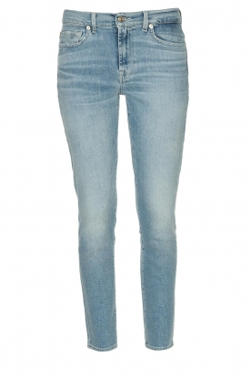 7 For All Mankind |  Skinny ankle jeans Roxanne | light blue
