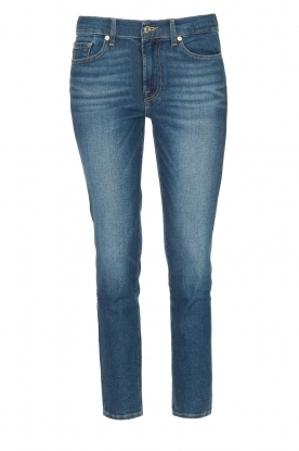 7 For All Mankind |  Skinny ankle jeans Roxanne | blue
