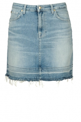 7 For All Mankind | Denim skirt Seven | blue