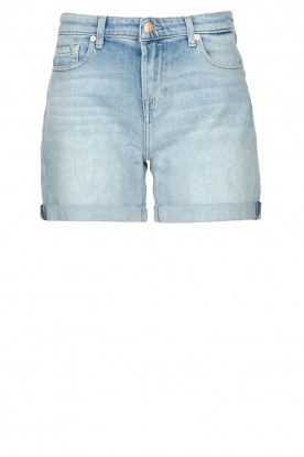 7 For All Mankind | Denim boy shorts Jasmine | light blue