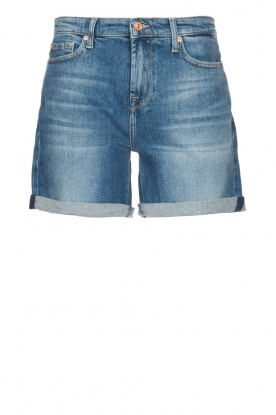 7 For All Mankind |Boyshort Jasmine | blauw