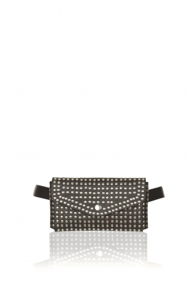 The Kaia |  Studded bum bag Kaia | black