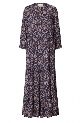 Lolly's Laundry |  Floral maxi dress Nee | blue