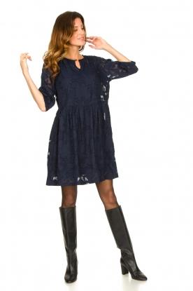 Look Dress with lace Ankara