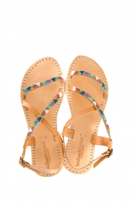 Laidback London |  Leather sandal Azari | multi
