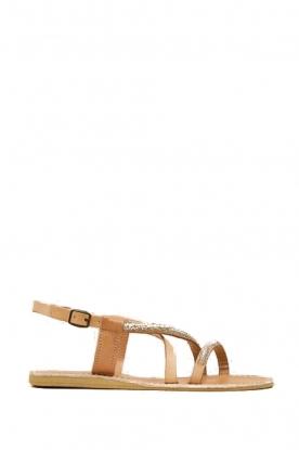Laidback London |  Leather sandal Azari | white