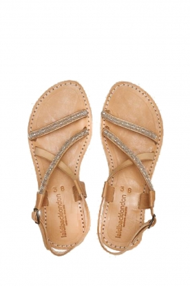 Laidback London |  Leather sandal Azari | white