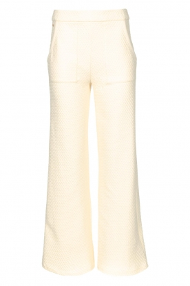 Lune Active | Flared broek Camilla | natural