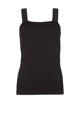 Lune Active | Bandeau top Pique | black
