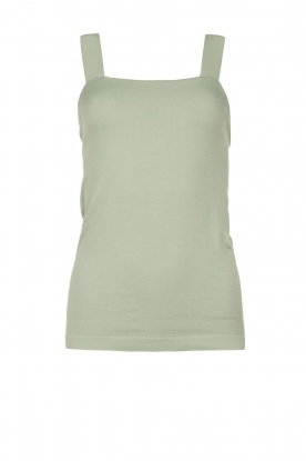 Lune Active | Bandeau top Pique | green