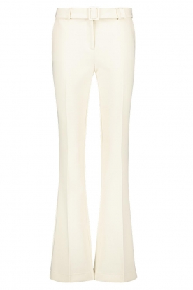 Aaiko | Flared trousers Flarene | natural