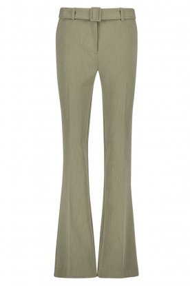 Aaiko | Flared trousers Flarene | green