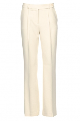 Aaiko | Flared trousers Vantalle | natural