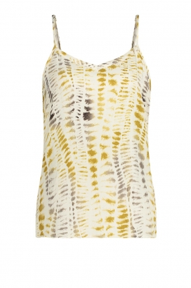 Aaiko | Tie dye top Tusem | natural