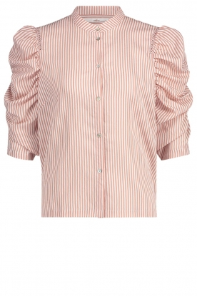 Aaiko | Striped blouse Taciana | pink