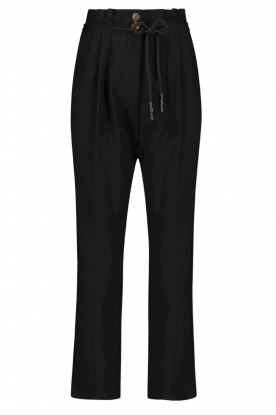 Aaiko | Pants with drawstring Tanika | black