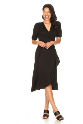 Look Midi wrap dress Margit