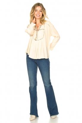 Look Crêpe blouse Shaey