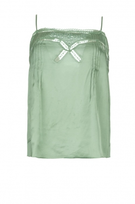 Louizon | Lace top Balou | green