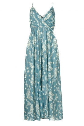 Louizon | Maxi halter dress Sisteron | blue