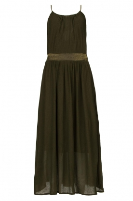 Louizon | Maxi halter dress Beegees | green