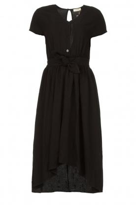 Louizon |  Midi dress Clara | black