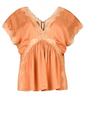 Louizon | Lace top Bonui | nude