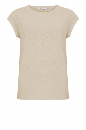 CC Heart | Cotton mix t-shirt Classic | beige