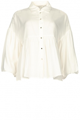 Kocca | Blouse with wide sleeves | natural
