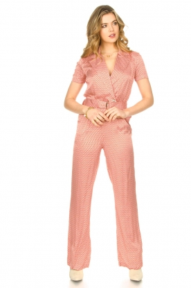 Look Printed jumpsuit Rakanja
