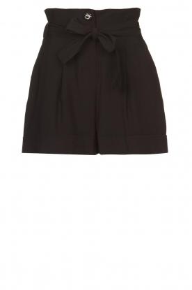 Kocca |  Paperbag shorts Kito | black