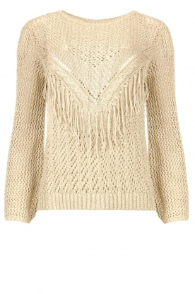 Liu Jo | Openwork sweater Fay | gold