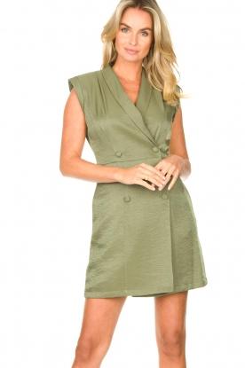 Liu Jo |  Blazer dress Mila | green
