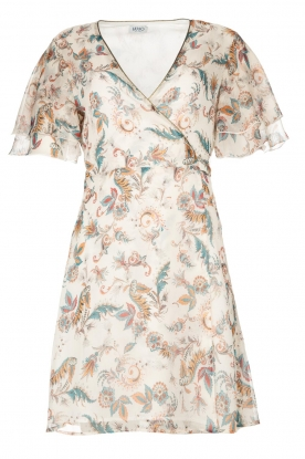 Liu Jo | Floral wrapdress Olivia | natural